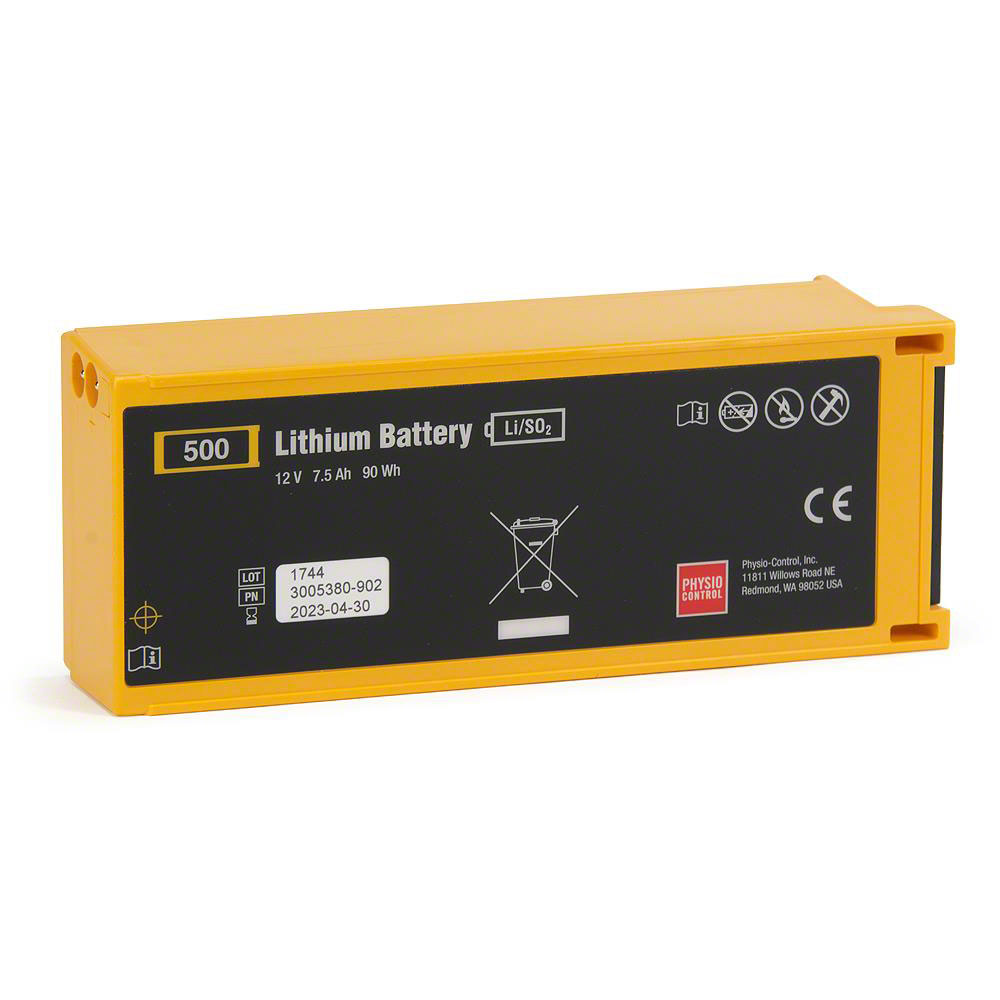 Physio-Control LIFEPAK® 500 Replacement Lithium AED Battery Kit