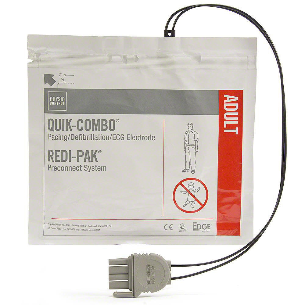 Physio-Control (REDI-PAK) Replacement LIFEPAK® Adult Electrode Pads
