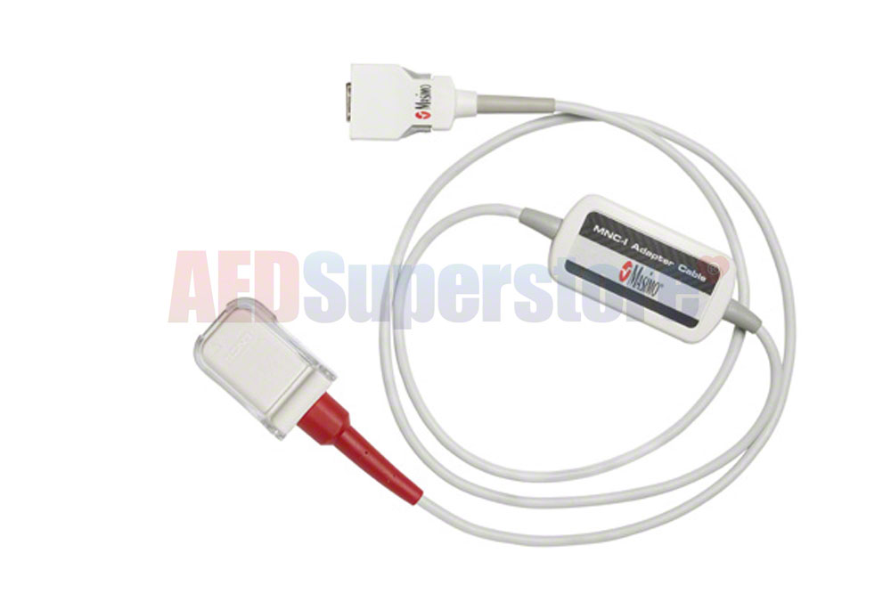 Physio-Control LIFEPAK 15 Red MNC Adapter Cable