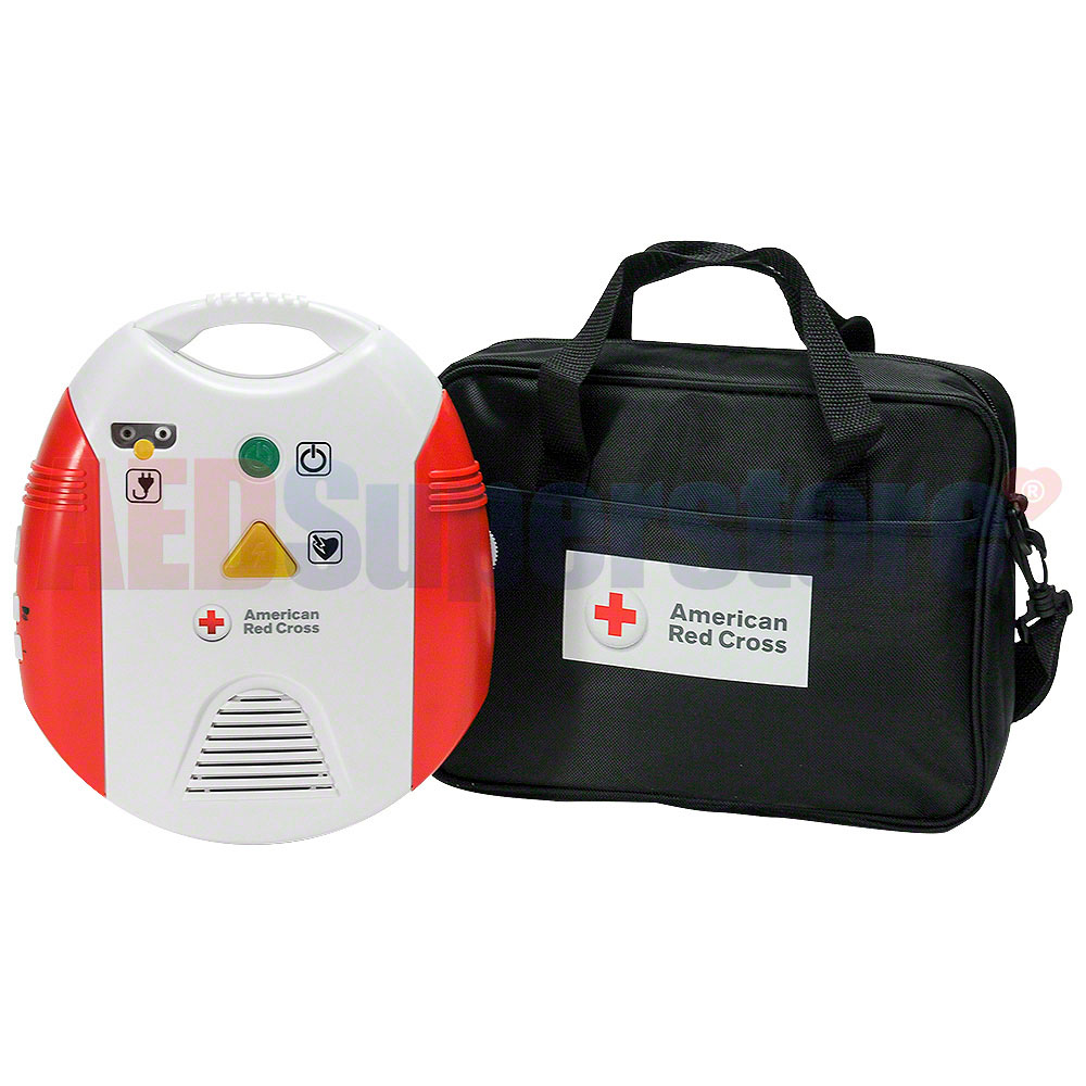 Red cross aed training device wmetronome carrying case aed red cross aed training device wmetronome carrying case xflitez Gallery