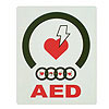 Flat AED Wall Sign by JL Industries
