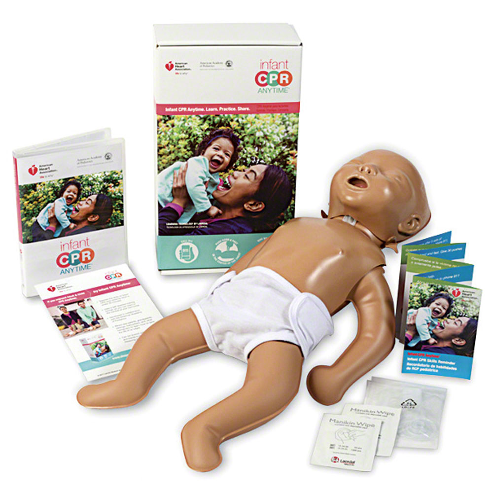 AHA 2015 Infant CPR Anytime<sup>®</sup> - English/Spanish