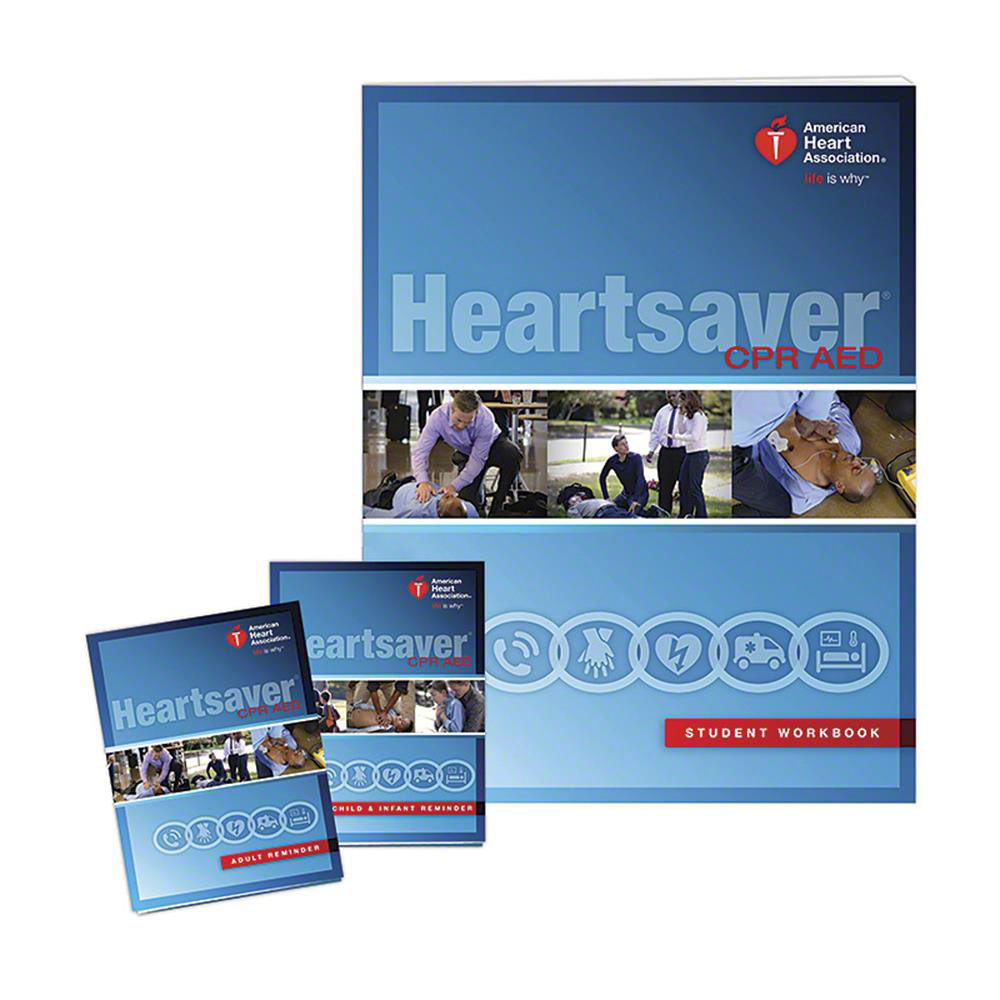 AHA 2015 Heartsaver CPR AED Student Workbook
