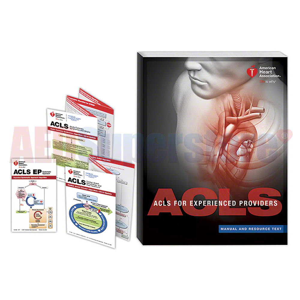 aha 2015 acls ep student manual resource text aed superstore rh aedsuperstore com ACLS Provider Manuel acls 2015 provider manual code