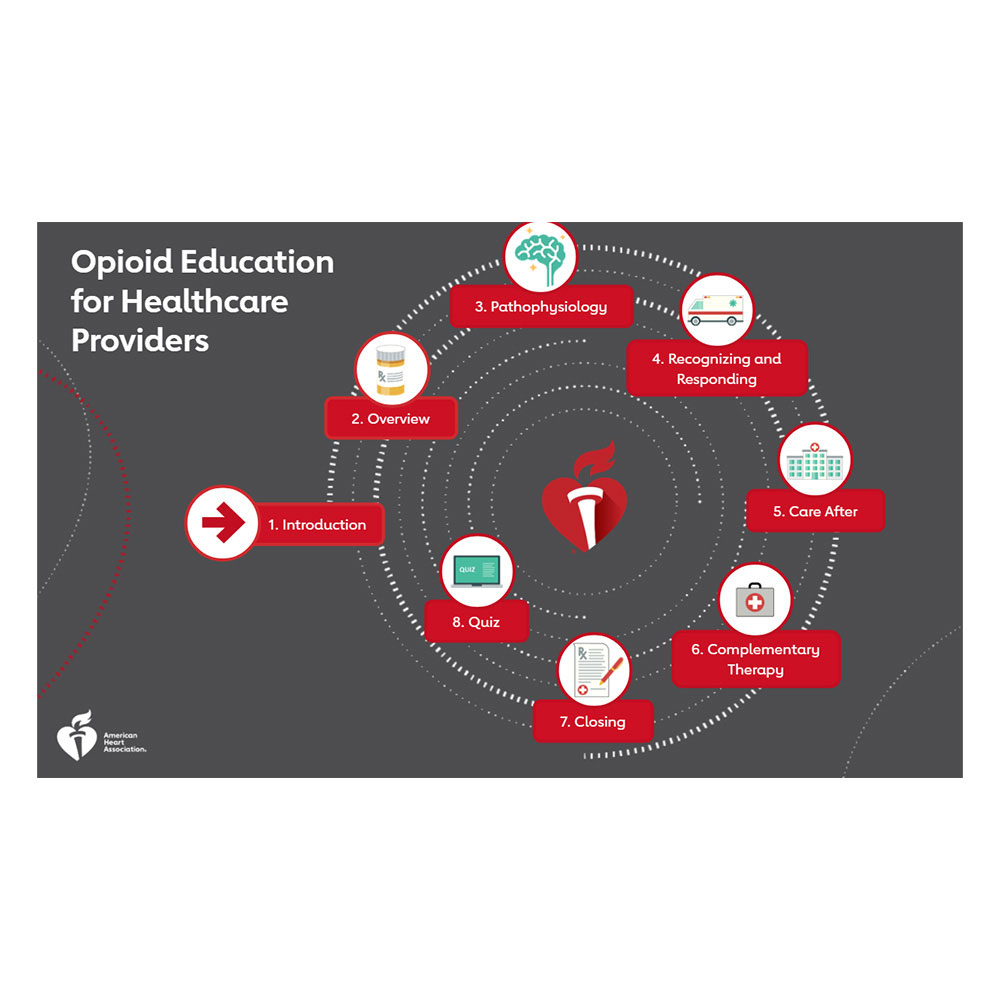 AHA Opioid Education for Healthcare Providers (eLearning Course)