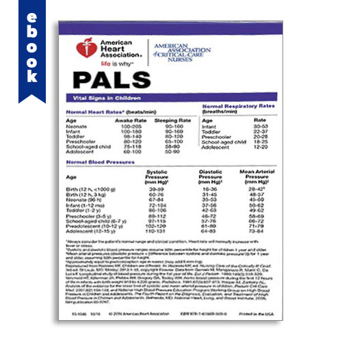 AHA 2015 PALS Digital Pocket Reference Card