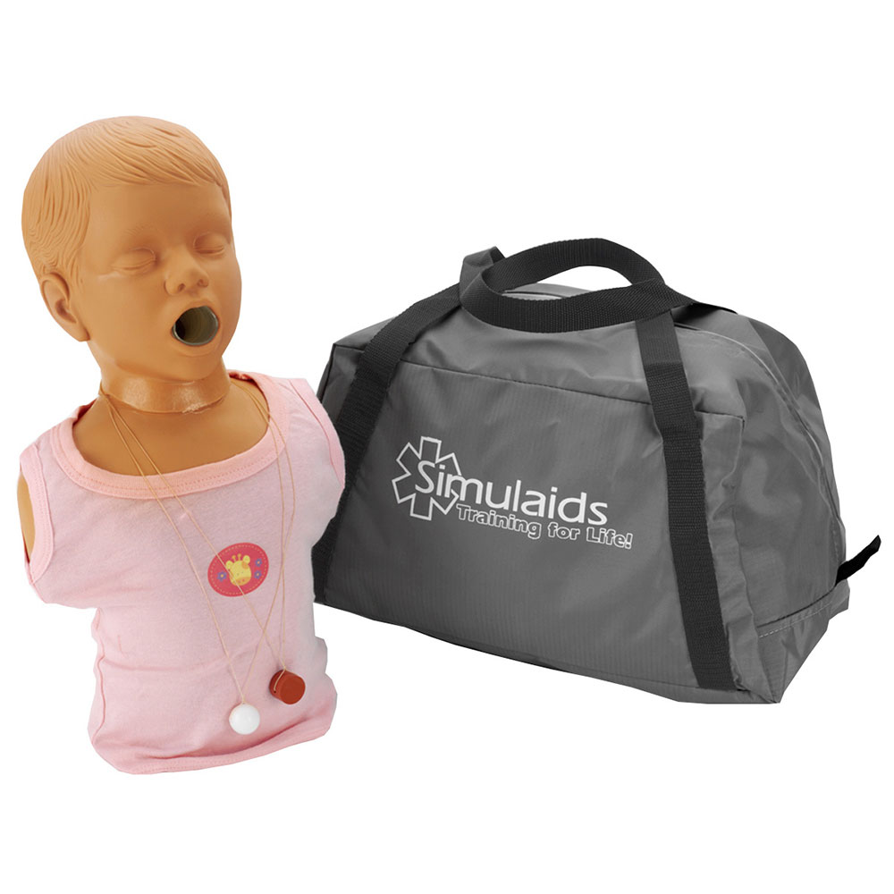 Simulaids Child Choking Manikin w/Carry Bag