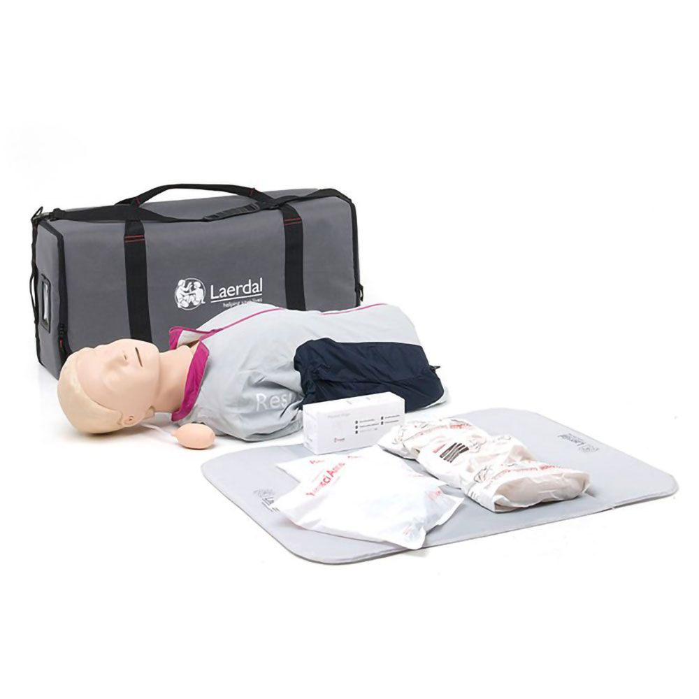 Laerdal Resusci Anne First Aid Torso w/Carry Bag