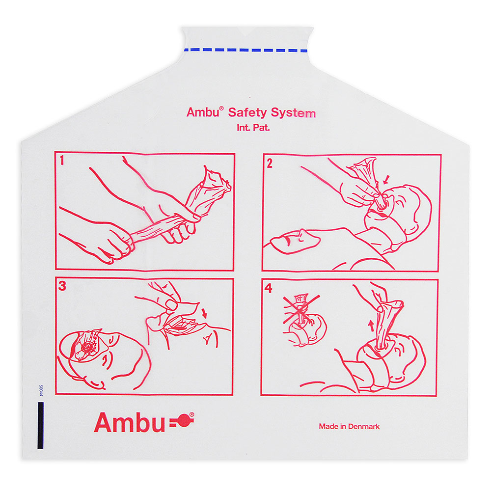 AMBU® CPR Pal head bags, 100/set