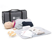 Laerdal Resusci Anne QCPR-D Torso w/Carry Bag