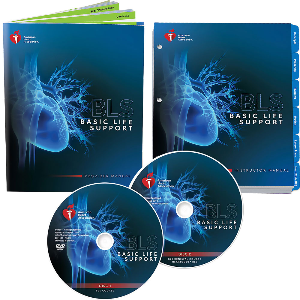 AHA 2020 BLS Instructor Package w/DVD