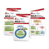 AHA 2020 ACLS Reference Card Set