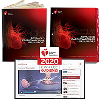 AHA 2020 ACLS Instructor Package w/Digital Video