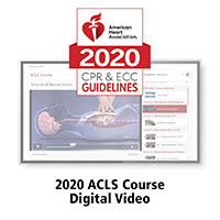 AHA 2020 ACLS Course Online Streaming Video Key Code