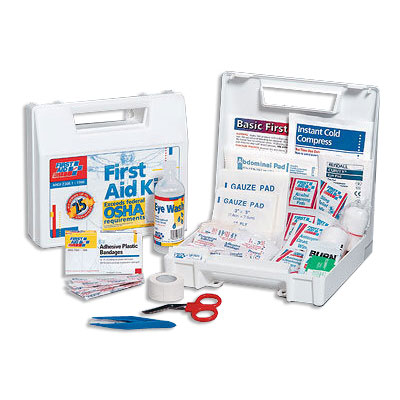 FAO 25 Person, 106 Piece ANSI Kit w/Plastic Case