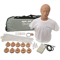 Simulaids Adam Adult Manikin w/Electronics & Carry Bag