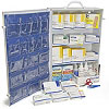 FAO 4 Shelf Industrial First Aid Station - 150 Person, 1060 Piece, w/Metal Case & Pocket Liner
