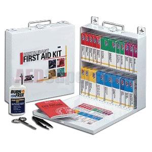 Fao restaurant first aid kit 27 unit 203 piece kit w for First aid kits for restaurant kitchens