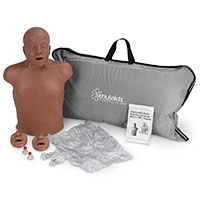 Simulaids Paul African-American Manikin w/Carry Bag
