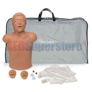 Simulaids Helal Ethnic CPR Manikin w/Carry Bag