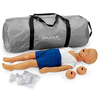 Simulaids 3-Year-Old Kyle Manikin w/Carry Bag