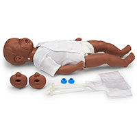 Simulaids 6- to 9-Month-Old African-American Kevin Manikin w/Carry Bag