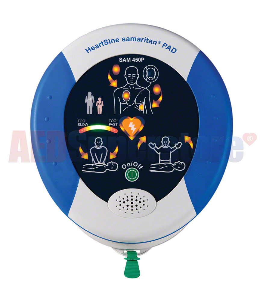 HeartSine samaritan PAD 450P AED School & Community Value Package