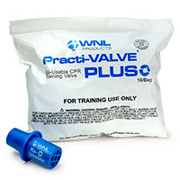 WNL Practi-VALVE® PLUS Reusable Valve for CPR Training by WNL Products