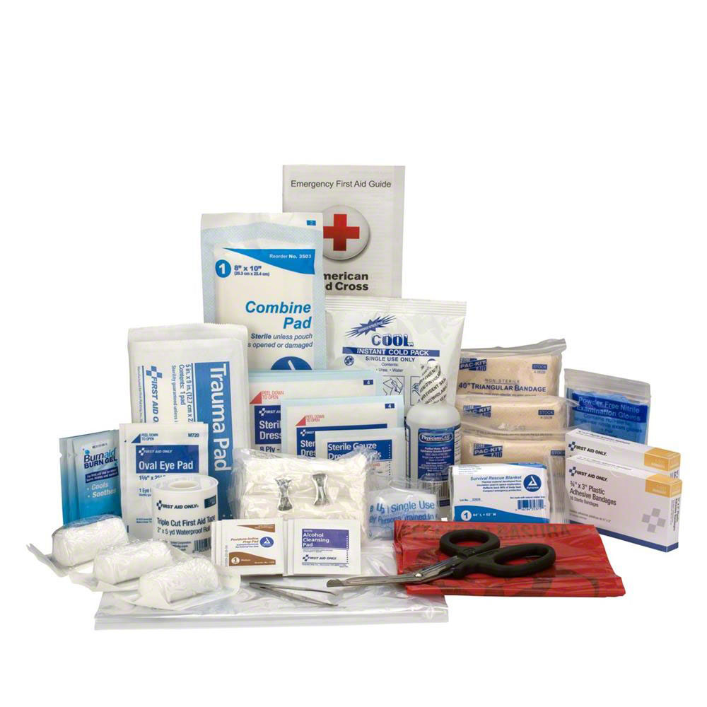 Refill Kit for the FAO Responder Kit - 47 piece