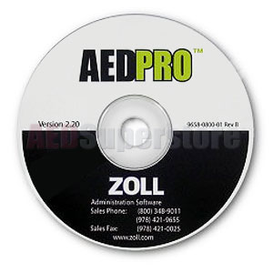 ZOLL® AED Pro® Administrative Software & AHA 2010 Guidelines Upgrade CD