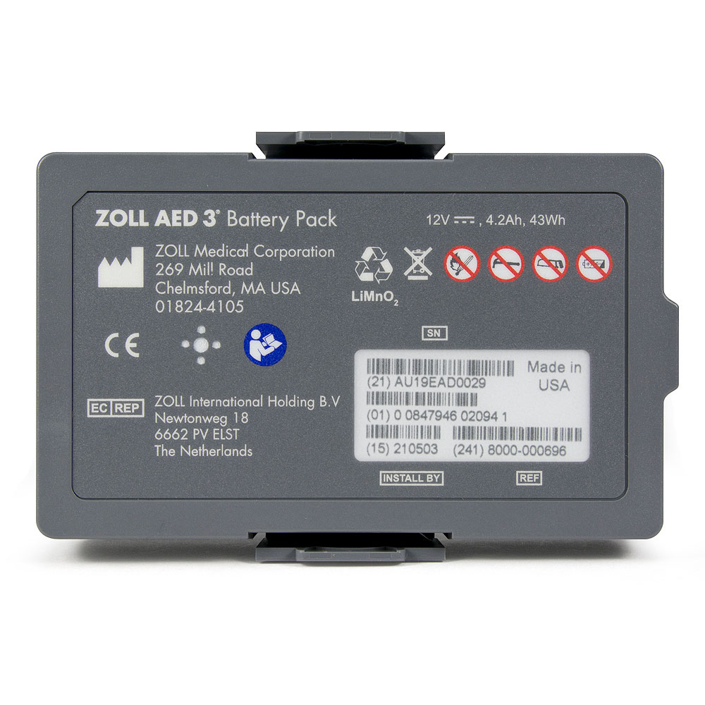 Zoll® AED 3 BLS Non-Rechargeable Lithium Battery