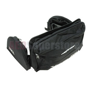 Replacement Rear Pouch with Side Pockets for Xtreme Pack II for ZOLL M Series Defibrillators