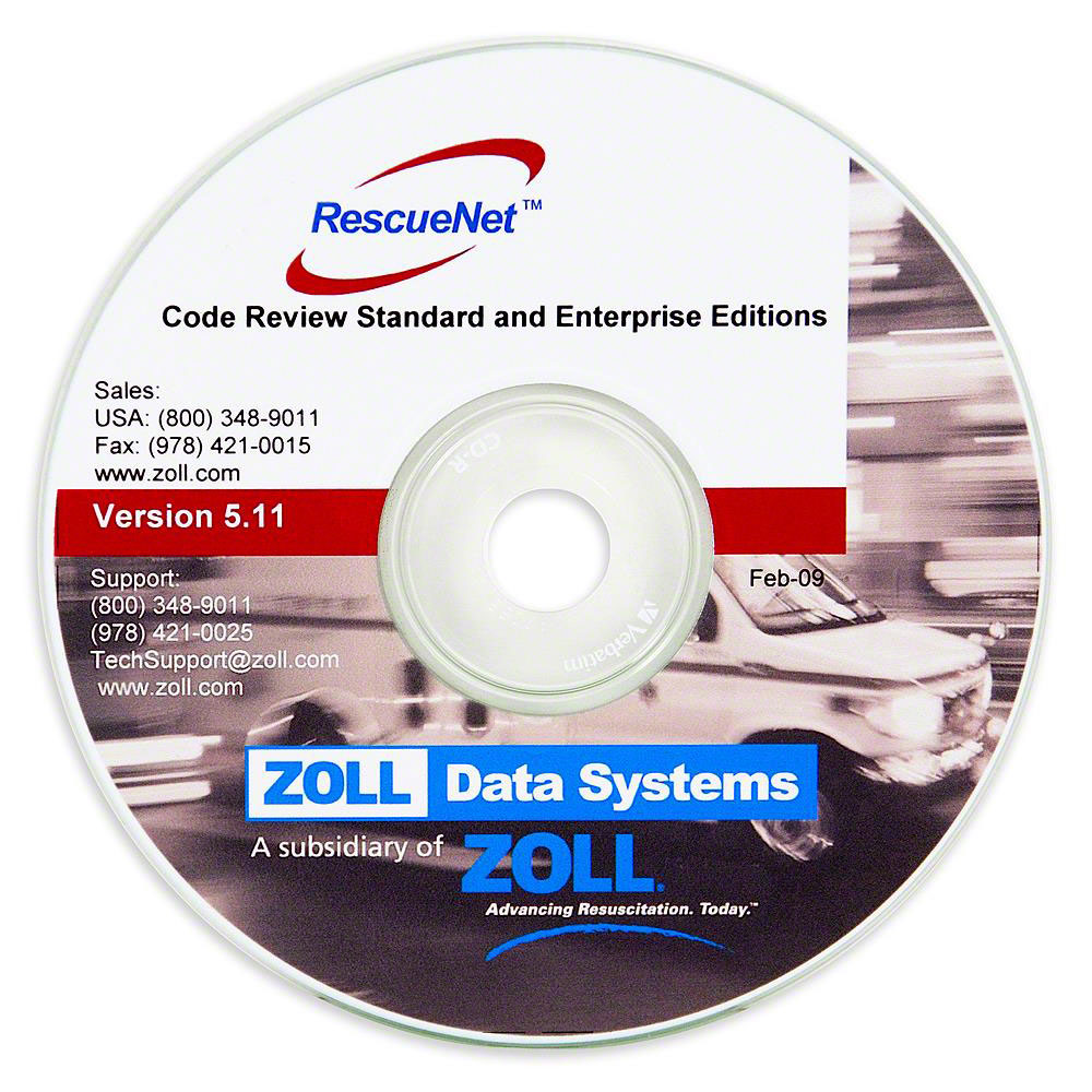 ZOLL® RescueNet Code Review Software - Physical Copy