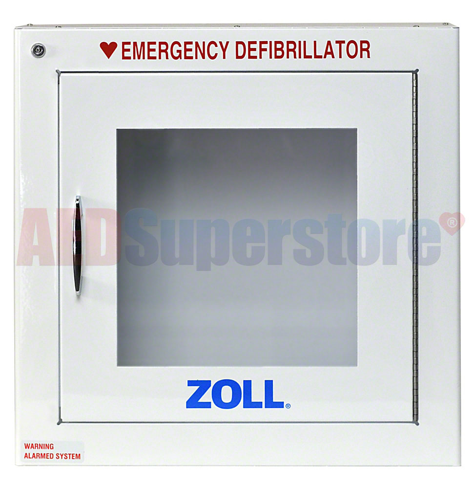 ZOLL® AED Plus® OEM Surface Mount Cabinet w/Alarm
