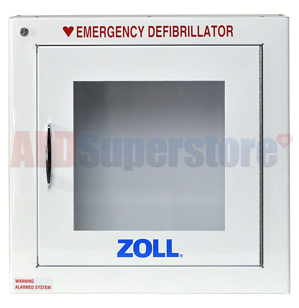 Zoll 174 Aed Plus 174 Oem Semi Recessed Mount Cabinet W Alarm