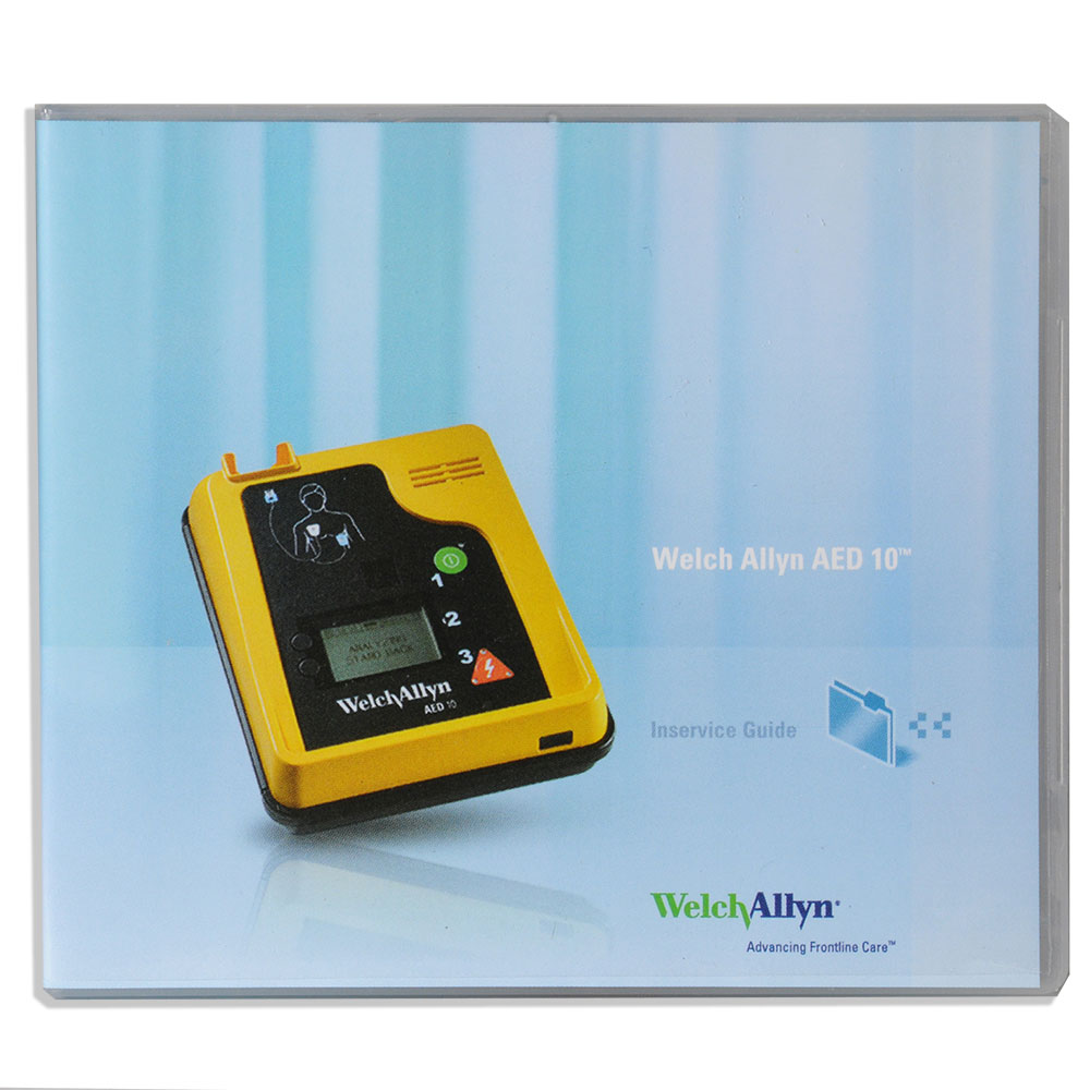 Welch Allyn® AED 10™ User Manual & In-Service Video
