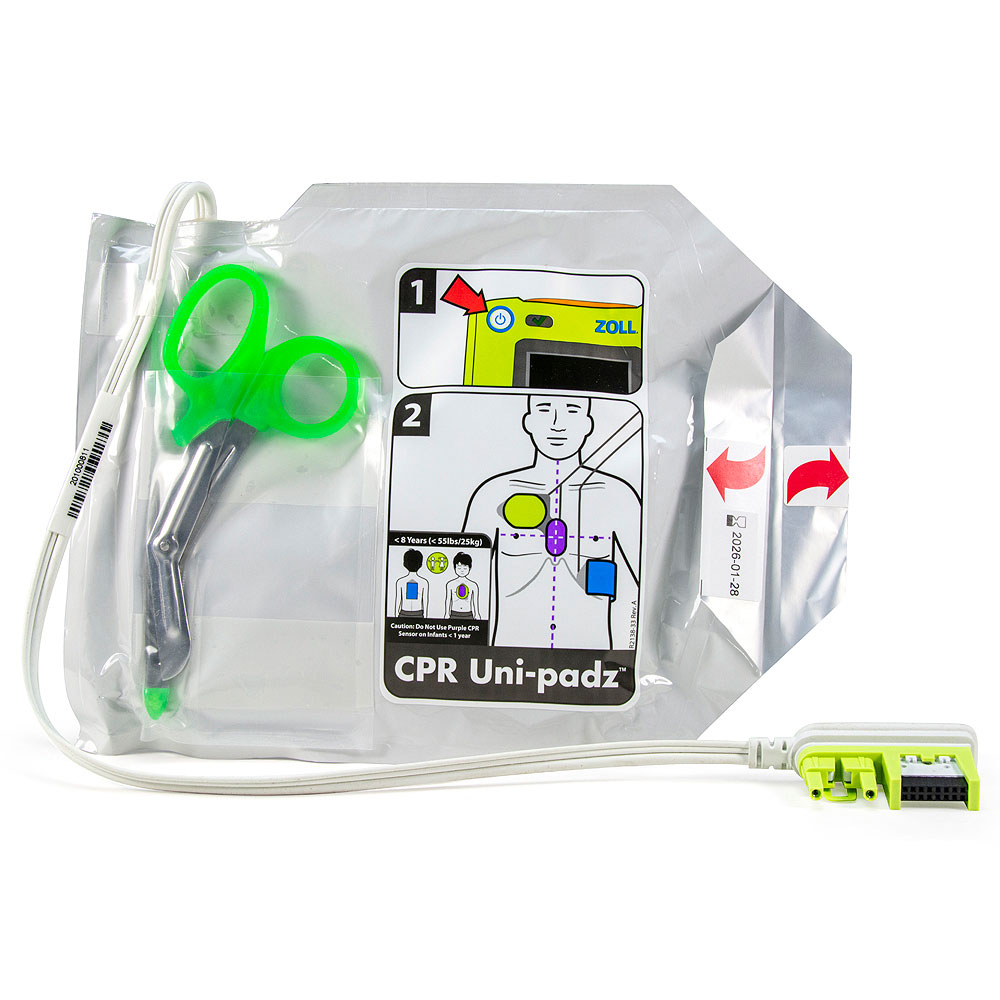 CPR Uni-padz™III Universal (Adult/Pediatric) electrodes