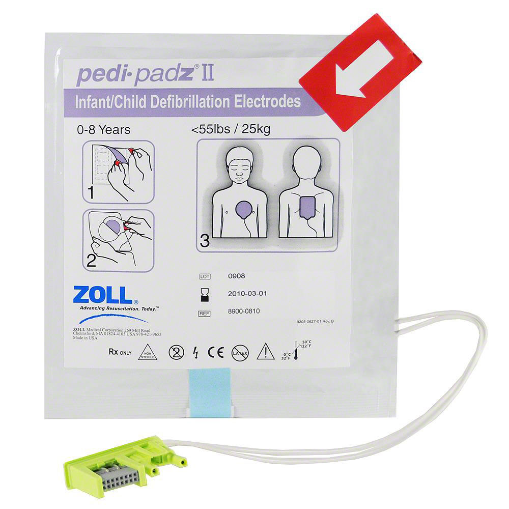 PEDI-PADZ II ELECTRODES - ONE PAIR