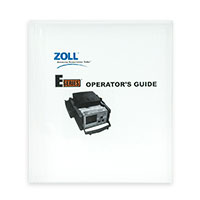 Operator's Manual, English for ZOLL E Series Defibrillators