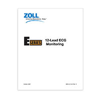 12-Lead Operator's Insert for ZOLL E Series Defibrillators