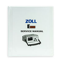 Service Manual, English for ZOLL E Series Defibrillators