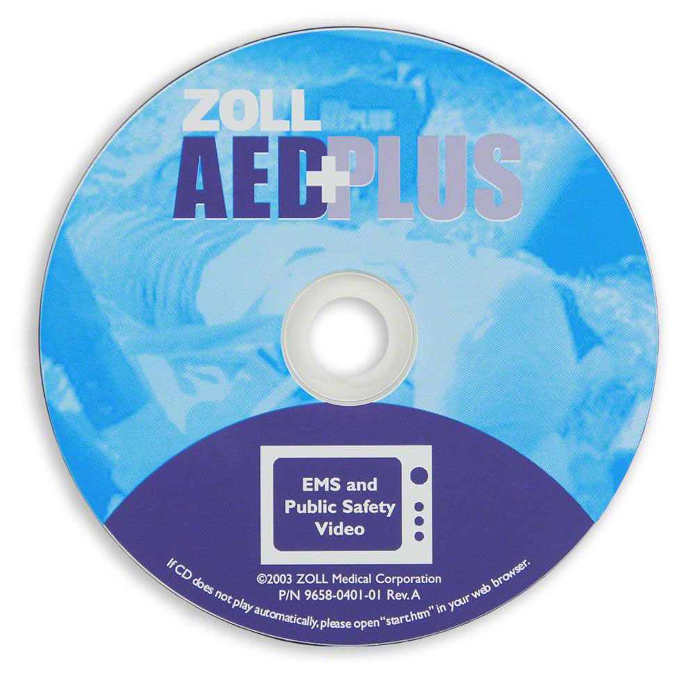 ZOLL® AED Plus Video Promotional for EMS / Public Safety Promotional (CD)