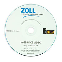 E Series In-Service Training CD for ZOLL E Series Defibrillators