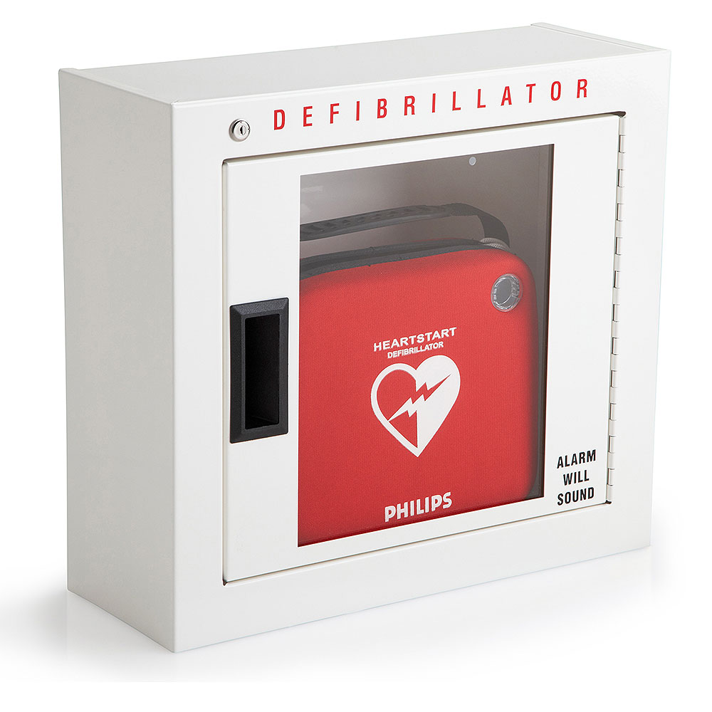 Philips Aed Cabinet Compact With Audible Alarm Aed