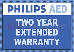 Philips FRx AED Extended Two-Year Warranty