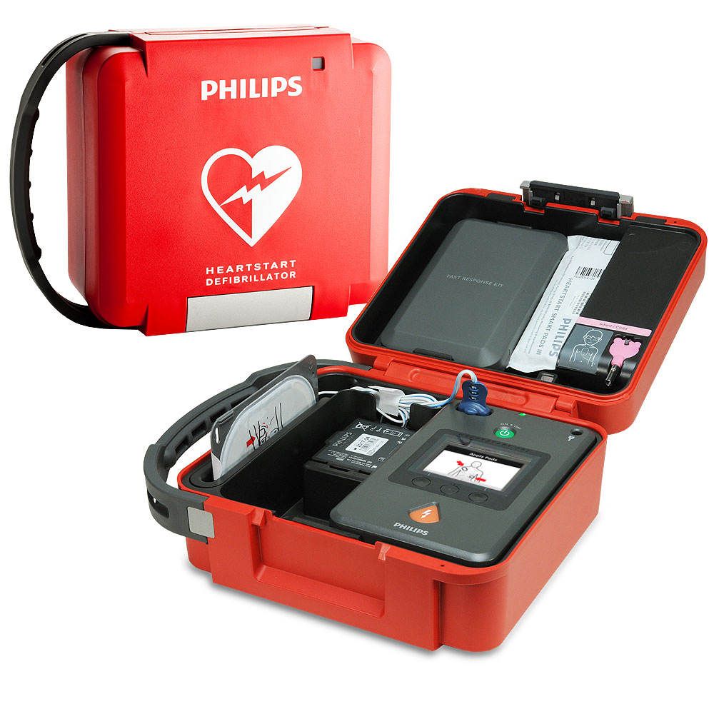 Philips HeartStart FR3 Rigid System Case