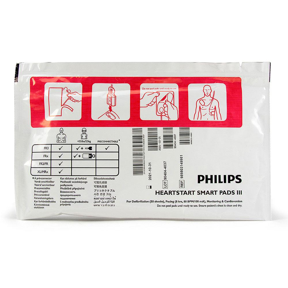 Philips HeartStart FR3 Replacement Adult Smart Pads III