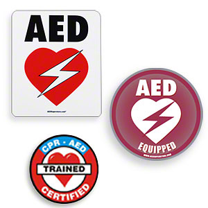 AED Decals