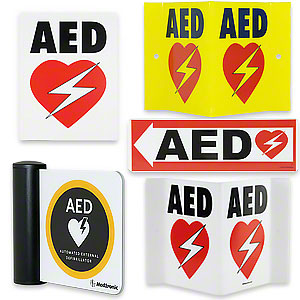 AED Wall Signs