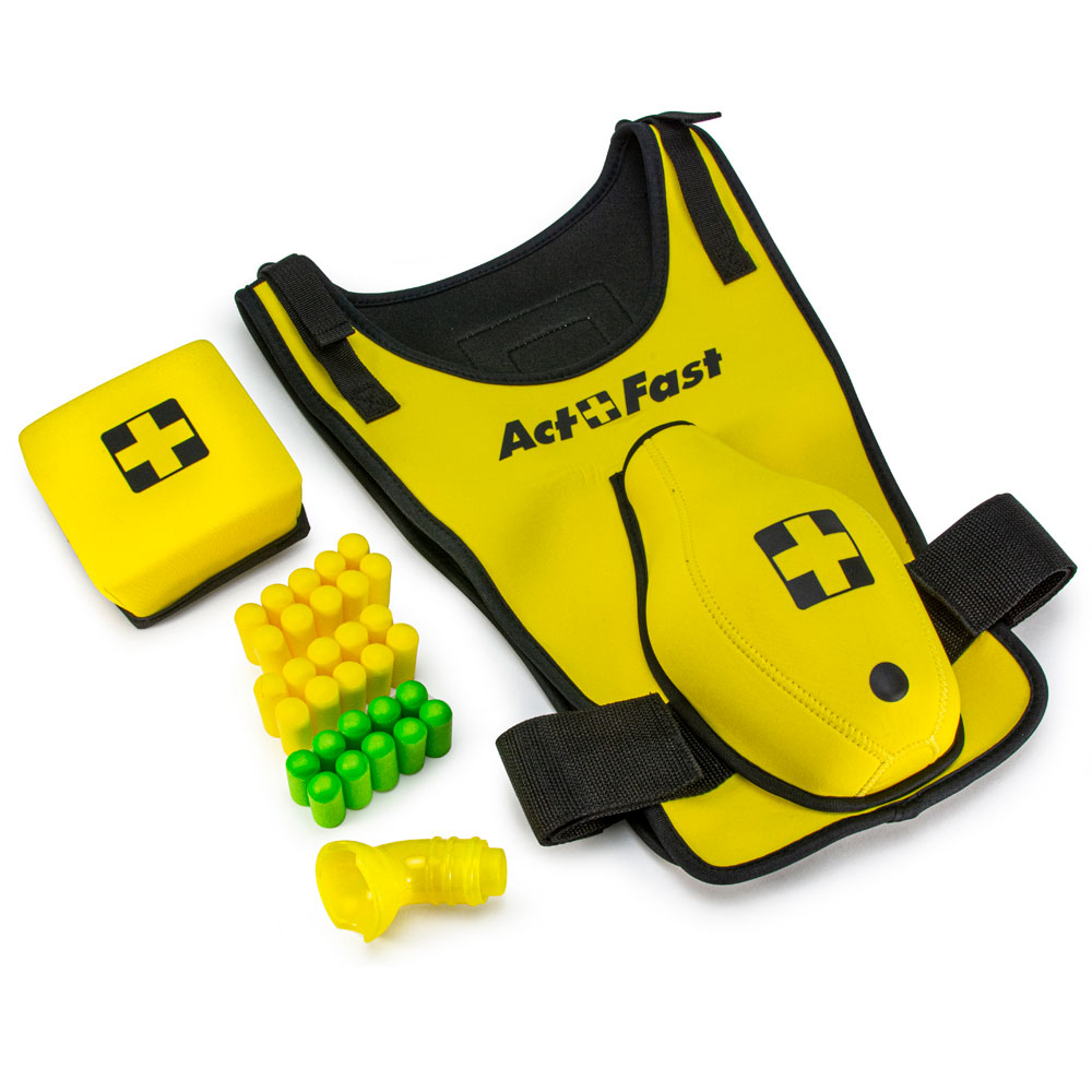 Act+Fast™ Medical Anti-Choking Yellow Trainer for School Age Children - Single